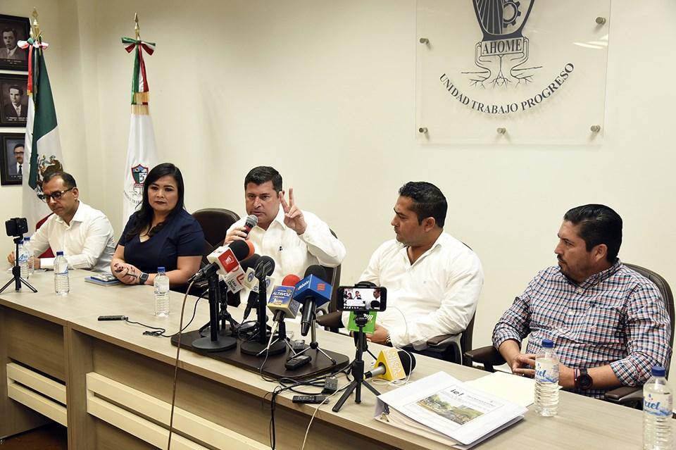 Ayuntamiento de Ahome interpone denuncia contra ex funcionarios municipales y contratistas ante Dirección de Responsabilidades