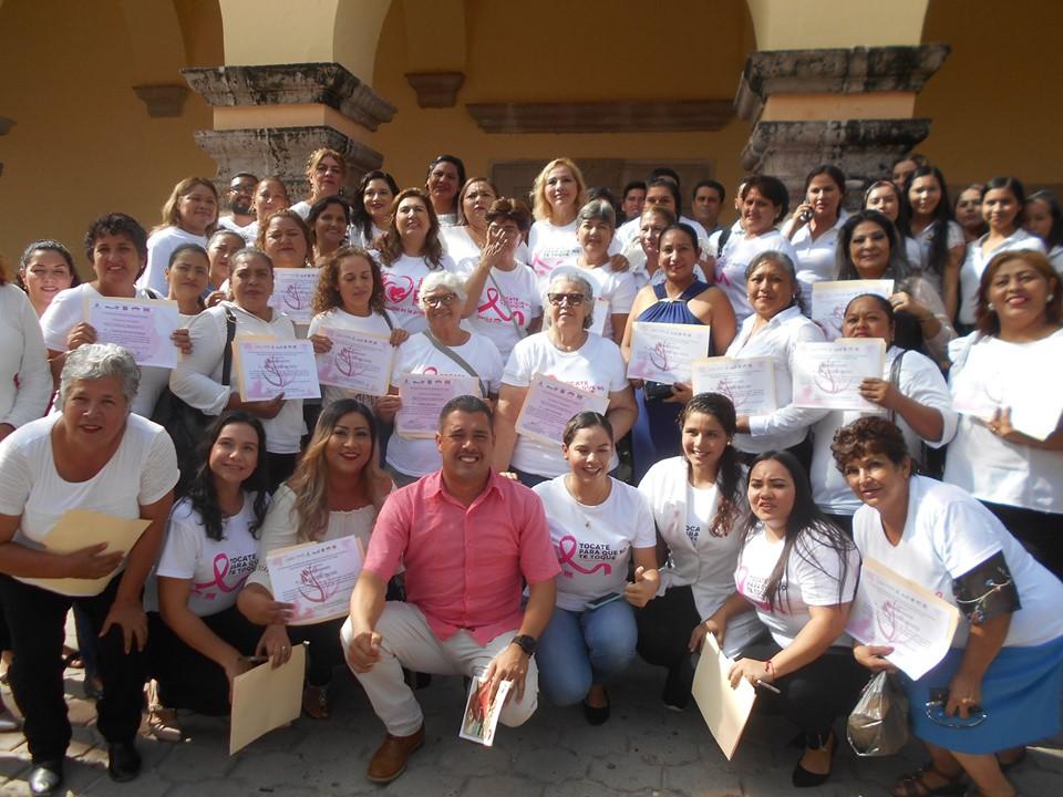 Conmemoran en El Fuerte el Día Internacional de la Lucha contra el Cáncer de Mama